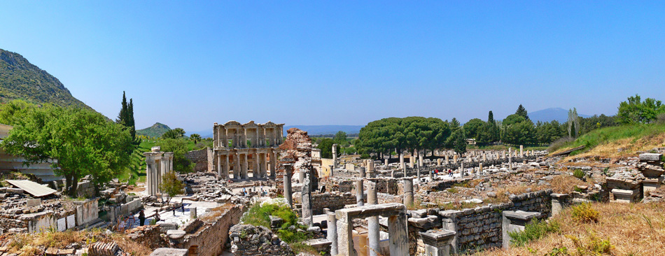 Ephesus with Temple of Artemis