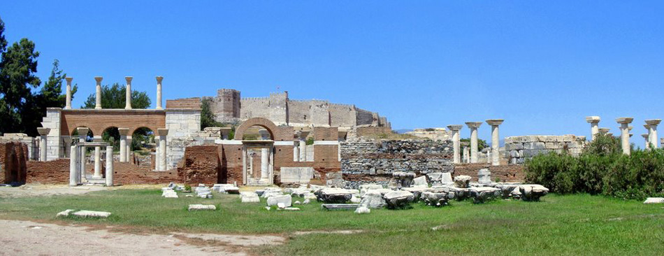 Ephesus with Basilica of St. John
